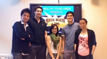The Healthy Young Minds Group (left to right): Drs. Jay Wang, Michael Yang, Terri Sun, Josh Lai and Sally Ke.