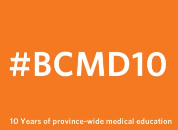 #BCMD10: celebrating 10 years of our MD program's expansion and distribution