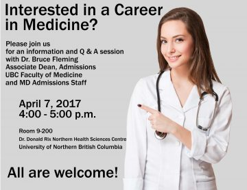 Upcoming Info Session at UNBC